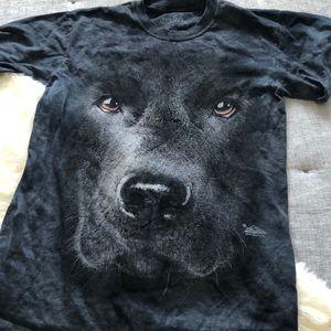The mountain black lab shirt sz.S